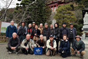 館山市の崖の観音で有名な大福寺にて