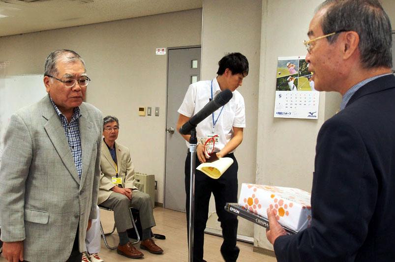 最優秀賞を受賞の王子田さん