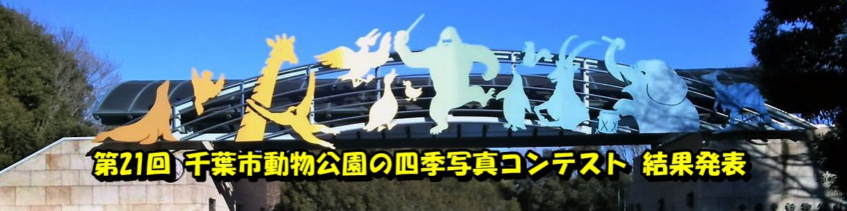 < 画像5枚のスライド ショー >第21回「千葉市動物公園の四季」写真コンテストの結果発表です。写真をクリックで詳細ページへ