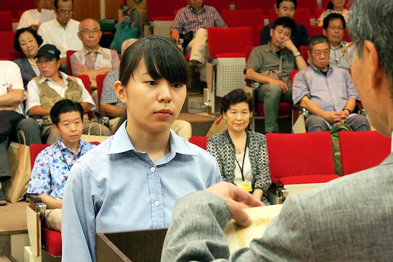 千葉県立実籾高校の4名の皆さんが入賞