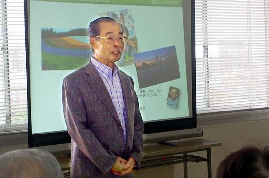 村上千葉県本部委員長から開会の挨拶