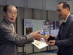 最優秀賞を獲得した習志野支部の林 秀敏さん