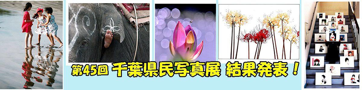 <5枚の手動スライド ショー >第45回千葉県民写真展結果発表は、上の画像またはブログからご覧下さい。